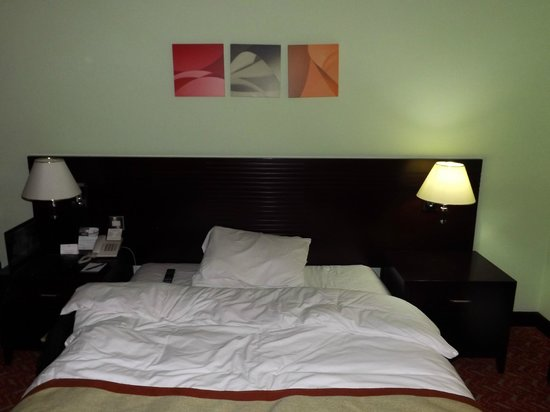 Al Diar Regency Hotel : hard bed gave me an aching back