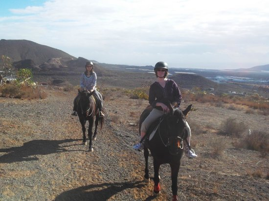 Horse Riding Adventures in Tenerife: Lovely people
