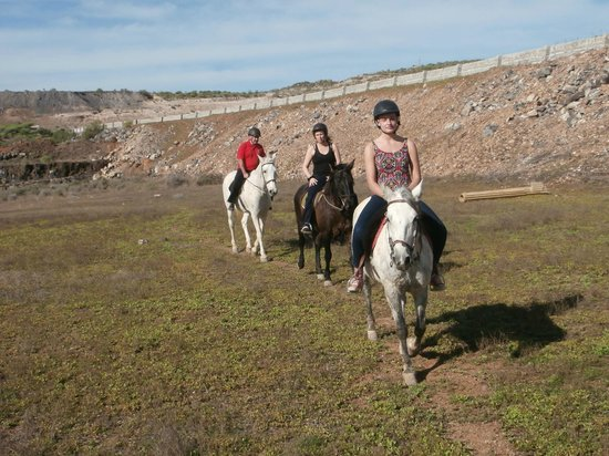 Horse Riding Adventures in Tenerife: At the far end of the valley