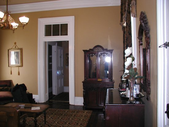 Nottoway Plantation Resort: TV is in armoire - hard to use and to see the TV