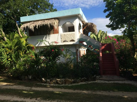 Coral Cove Resort : Ackee Tree Cottage- perfect for a family, very quite and comfortable