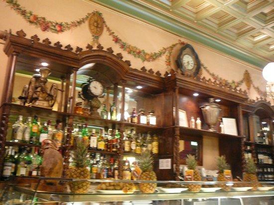 Restaurante Egipte : il bancone