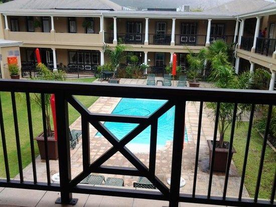 Protea Hotel by Marriott Franschhoek: balcony