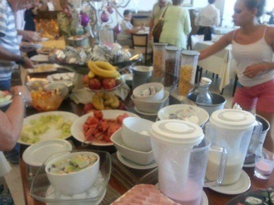 Hotel Iruna Mar del Plata: Desayuno