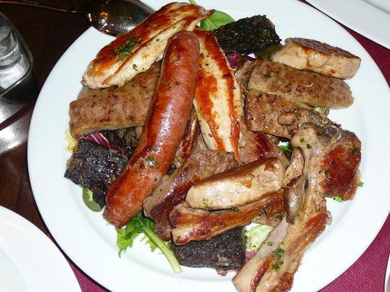 Restaurante Egipte : grigliata di carne