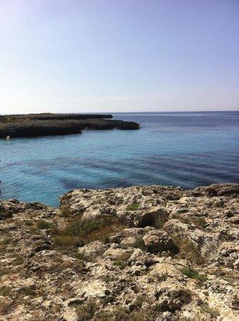 Smartline Cala'n Bosch : Vy utöver havet nedanför hotellet
