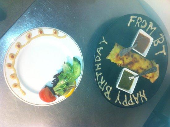 Bollywood Tiger: mums birthday dish