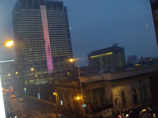 Hotel Retro: vista sulla citta'.....