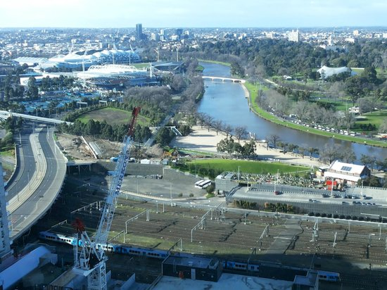 Grand Hyatt Melbourne : View from my room !!