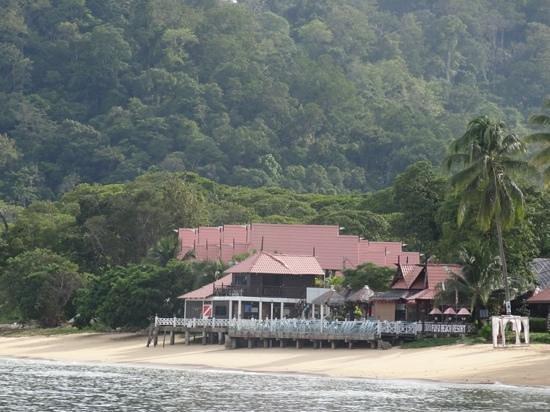 Paya Beach Spa and Dive Resort: paya resort dal mare