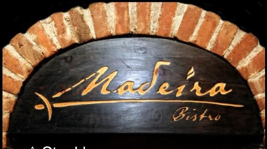 Madeira Restaurant Bistro: The grill