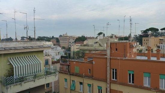 Mercure Roma Corso Trieste: Vista do apartamento