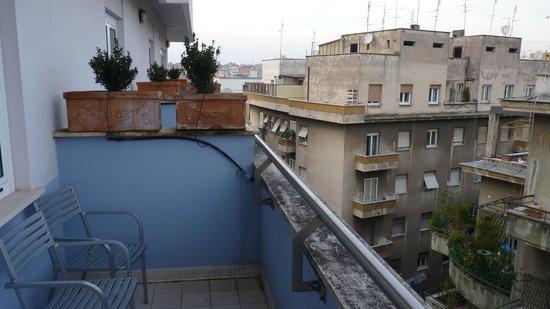Mercure Roma Corso Trieste: Vista, foto tirada da varanda