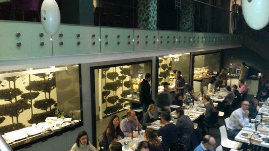 Bohem Art Hotel: Salão do café da manhã