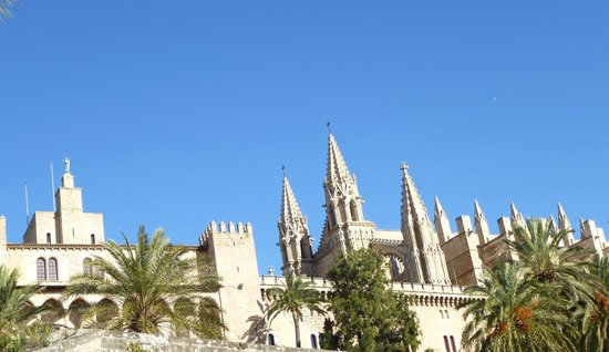 Catedral de Mallorca: view of the cathedral