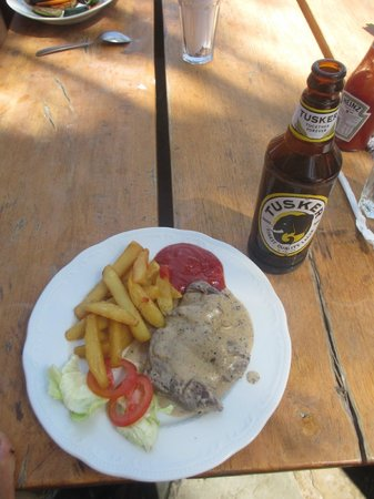 Blue Marlin Beach Restaurant: Pepper Steak