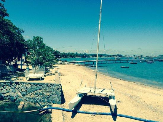 Pousada Solar dos Corais: Porto da barra, ideal para tomar algo y ver el atardecer