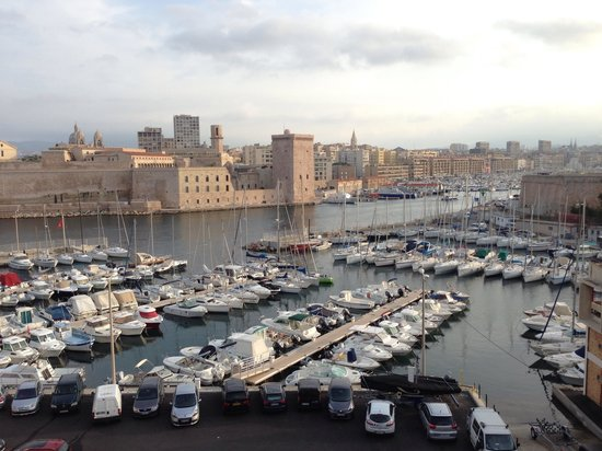 Sofitel Marseille Vieux-Port: View from room with terrace
