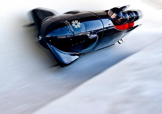 Bobsleigh at Canada Olympic Park in Calgary