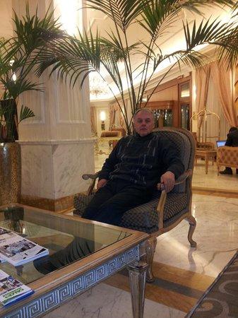 Grand Visconti Palace : hotel lobby