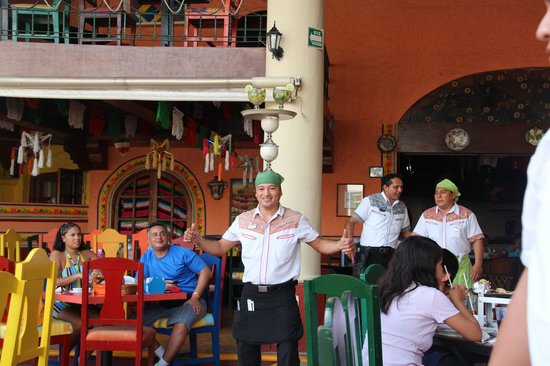 Mextreme: this is how they serve drinks