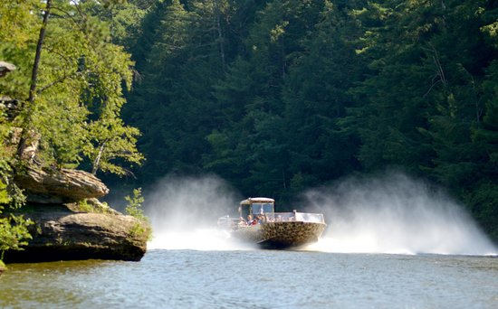 Captain Ron's Original Dells Jet Boats: Wildthing Jet Boat World Class Wisconsin River
