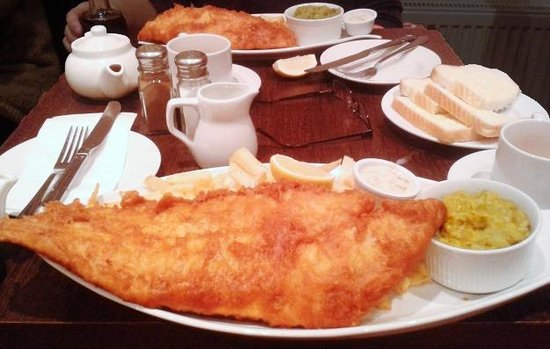 Green Lane Fish and Chip Restaurant: Meals at Green Lane Chippy