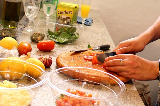Personal Guide Sicily - Traditional Sicilian Cooking School: Prepping