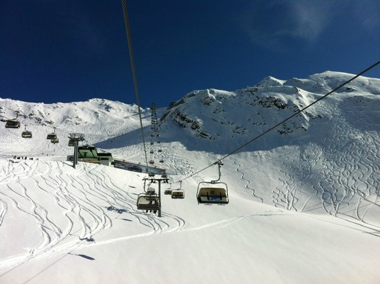 Hotel Angerer Alm: Ski pistes and lifts