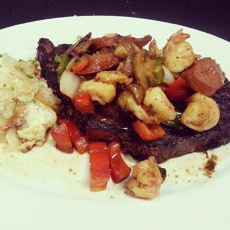 Merrill & Houston's Steak joint: Bayou Prime Rib