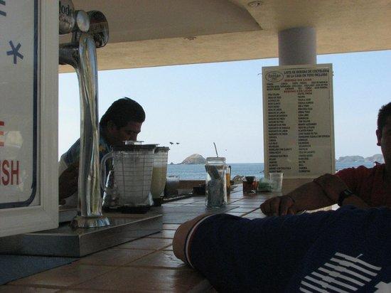 Hotel Fontan Ixtapa : Wasps hovering around bar always