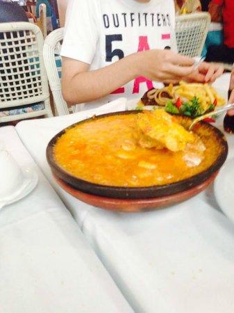 Restaurante Yemanja : Moqueca Mista de Peixe com Camarão!! Melhor de tudo!!