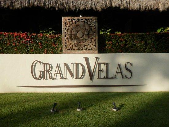 Grand Velas Riviera Nayarit : Front Sign