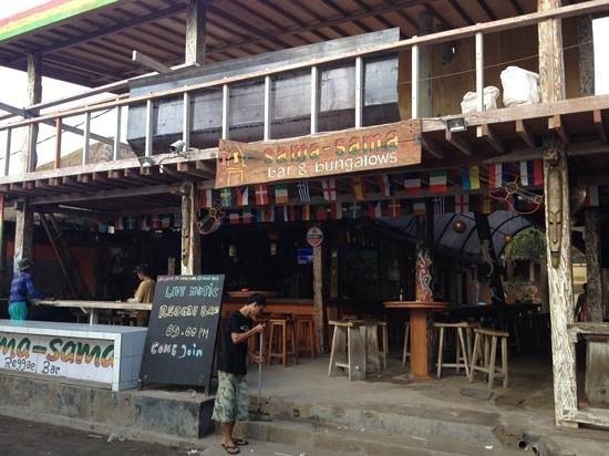 Gili Trawangan, Indonezja: Sama sama bar