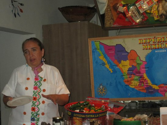 Can Cook in Cancun: Map of all the regional cooking in Mexico