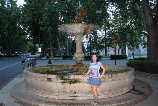 Paseo del Prado: Очередной фонтан