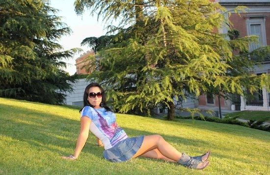 Paseo del Prado: Возле музея Прадо