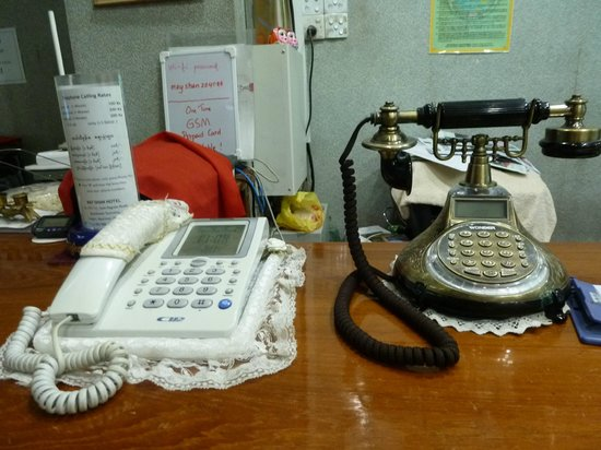 May Shan Hotel: RECEPCION