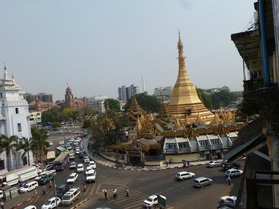 May Shan Hotel: VISTA HABITACION