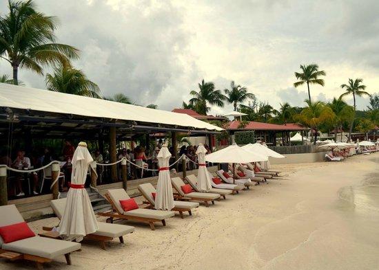 St. Jean Beach: Lounge