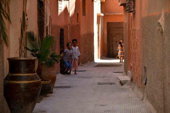Riad Palais des Princesses : entry to hotel