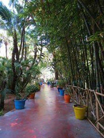 Riad Palais des Princesses : marjorelle garden