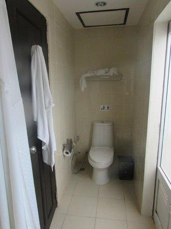 Holiday Inn Resort Phi Phi Island: Photo prise de la douche. Rien pour poser nos affaires