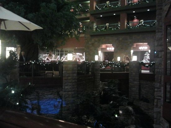 Chateau on the Lake Resort & Spa: View from Atrium Cafe