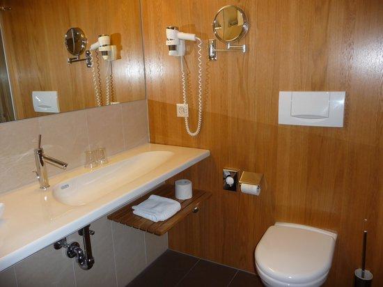 Continental-Park Hotel : Banheiro do quarto 204
