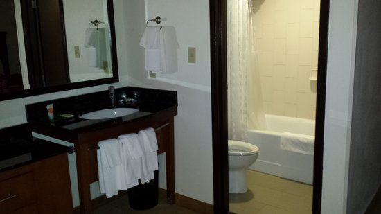 Hyatt Place Nashville/Brentwood: bathroom area