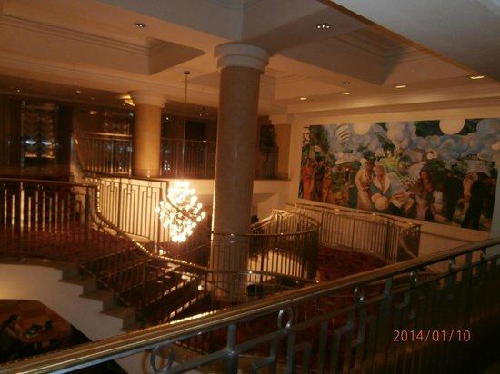 Hilton London Paddington: decor escaliers