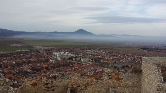 Rasnov Citadel: The amazing view from above