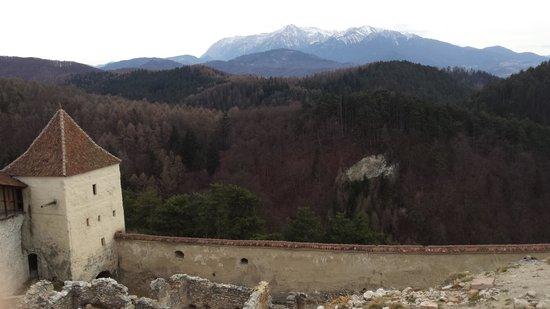 Rasnov Citadel: Stunning views