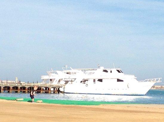 SENTIDO Palm Royale: Quiet area of beach